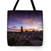 Mono Lake Sunset 5 Tote Bag