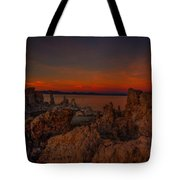 Mono Lake Sunset Tote Bag