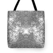 Mono Trees Tote Bag