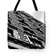 Monochromatic Facade Tote Bag