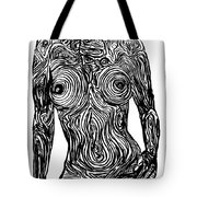 Monochromatic Nude Tote Bag