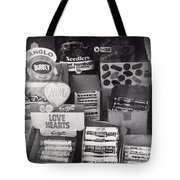 Monochrome Candy Tote Bag
