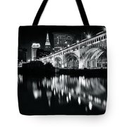 Monochrome Cleveland Tote Bag
