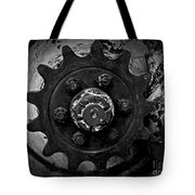 Monochrome Gear Tote Bag