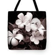 Monochrome Hawaii No. 3 Tote Bag