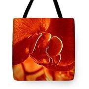 Monochrome Orchid Tote Bag