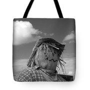 Monochrome Scarecrow Tote Bag