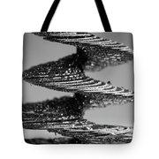 Monochrome Spiral Tote Bag