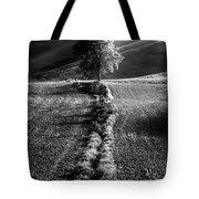 Monochrome Valley Tote Bag
