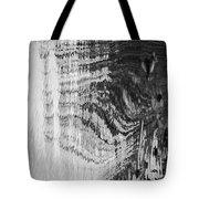 Monochrome Water Tote Bag