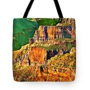 Monolith North Rim Grand Canyon Tote Bag