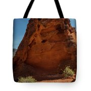 Monolith Sculpture Valley Of Fire Tote Bag