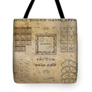 monopoly Board Game 1935 Tote Bag