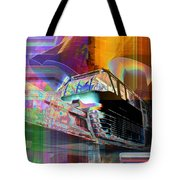 Monorail And Emp Tote Bag
