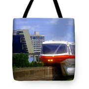 Monorail Tote Bag