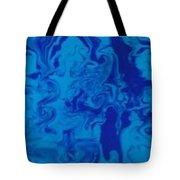 Monotone Blue Tote Bag