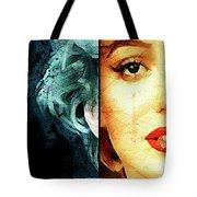 Monroe Panel A Tote Bag