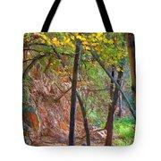 Monrovia Canyon In Fall Tote Bag