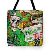 Monsanto Killed Me Tote Bag
