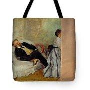 Monsieur And Madame Edouard Manet Tote Bag
