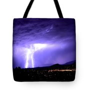Monsoon Over Sedona Tote Bag
