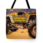 Monster Jam Party In The Pits Tote Bag
