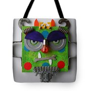 Monster King Tote Bag by Jen Hardwick