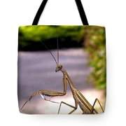 Monster Mantis Tote Bag