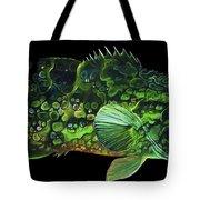 Monster Melon Tote Bag