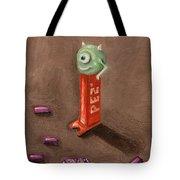 Monster Pez Tote Bag