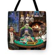 Monster Poker Tote Bag