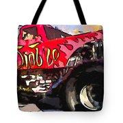 Monster Truck El Diablo Tote Bag