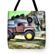 Monster Truck - Grave Digger 2 Tote Bag