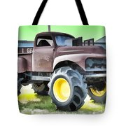 Monster Truck - Grave Digger 3 Tote Bag
