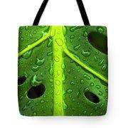 Monstera Rain Tote Bag