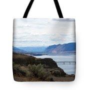 Montana Bridge Tote Bag