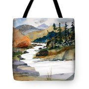 Montana Canyon Tote Bag