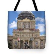 Montana Capitol Building Tote Bag