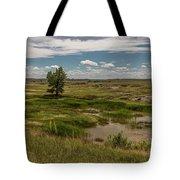 Montana Country And Tree Tote Bag