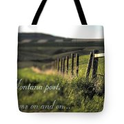 Montana Dream Tote Bag