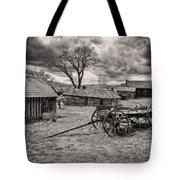 Montana Ghost Town Tote Bag