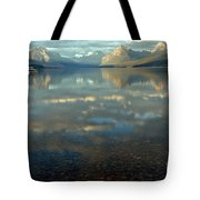 Montana Lonely Boat Tote Bag