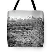 Montana Mountainscape Tote Bag