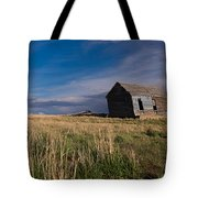 Montana Prairie Homestead Tote Bag