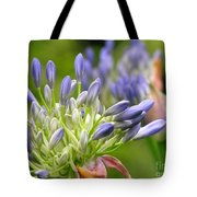 Montana Purple And Blue Tote Bag