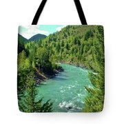 Montana River Tote Bag