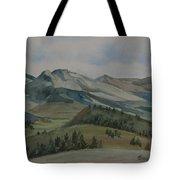 Montana Skyline Tote Bag