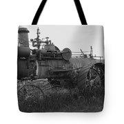Montana Steam Farm Tractor Tote Bag