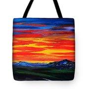 Montana Sunset Colors                     72 Tote Bag