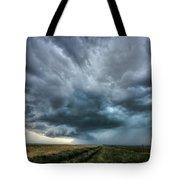 Montana Thunderstorm Tote Bag